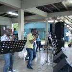 optreden gospelformatie G-Merce bij Mars v Jezus
